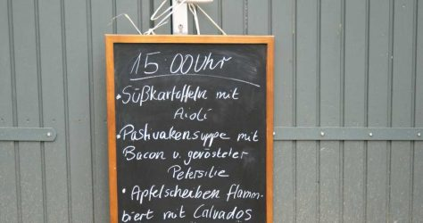 """""""KUNST""""-Küche ab 15 Uhr"""