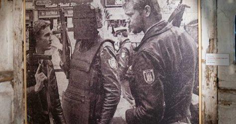 Ole Ohlendorff - Zeitungsausschnitt zum Polizeieinsatz
