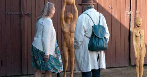 Holzskulpturen Julia Heigel - KUNST-stückchen 2015