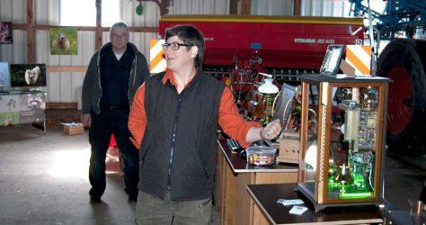 Kunstführung 2015 mit Heike Schader bei Steampunk