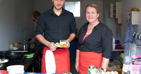 """Nico Tangermann & Angela Rechenburg - """"KUNST""""-Küche"""