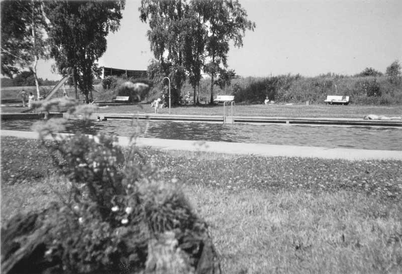 Garlstorfer Schwimmbad, 05.08.1969, Foto: Irmi Harms